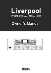 Korg Liverpool Owner's Manual