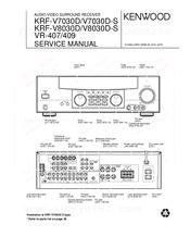 Kenwood Vr 407 Manuals Kenwood Vr-60rs Price Kenwood Vr-60rs Manual Kenwood Vr 60rs Review