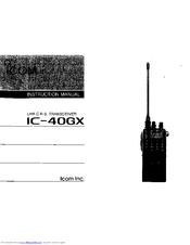 icom ic 40gx instruction manual pdf download rh manualslib com
