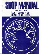honda c90 manuals rh manualslib com Honda 60 Cub honda cub 90 workshop manual