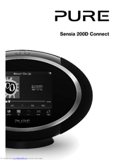 Pure sensia 200d connect internet radio download instruction.