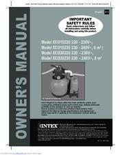 Intex Eco20230 Manuals