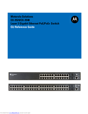 Motorola EX-3524 Cli Reference Manual