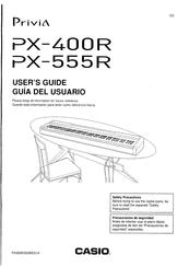 Privia PX-555R Manuals