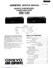 onkyo tx 906 manuals rh manualslib com onkyo tx-906 service manual onkyo tx-906 manual pdf