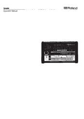 Roland tr-8 | rhythm performer.