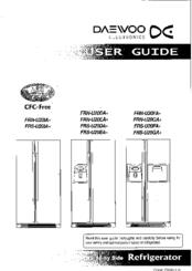 Daewoo FRS-U20GA Series Manuals