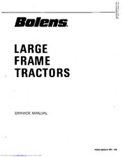 Bolens 2087 HT 20 Manuals