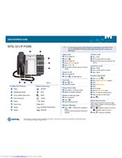 mitel 5312 manuals rh manualslib com  mitel 5312 ip phone voicemail user guide
