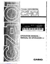 casio cz 101 cosmo manuals rh manualslib com Casio Synthesizer Casio CZ 230s Synthesizer