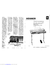 Hohner Symphonic 35 Servicing Instructions