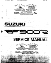 [DIAGRAM_1JK]  Suzuki RF 900 R Manuals | ManualsLib | Rf900r Wiring Diagram |  | ManualsLib
