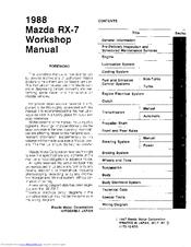 mazda 1988 rx 7 manuals Mazda RX-7 Fd Mitsubishi Eclipse