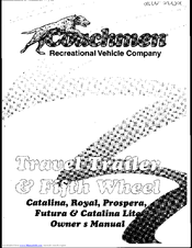 COACHMEN RV CATALINA OWNER'S MANUAL Pdf Download