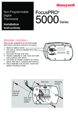honeywell focuspro 5000 series installation instructions manual pdf honeywell programmable thermostat wiring honeywell focuspro 5000 series installation instructions manual pdf download