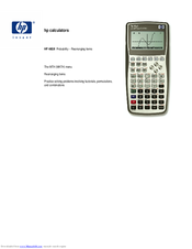 hp 48gii manuals Texas Instruments Graphing Calculator Texas Instruments Graphing Calculator