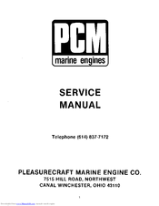 pcm 351 manuals rh manualslib com Pleasurecraft Marine Wiring Harness pleasure craft marine (pcm) engine manuals