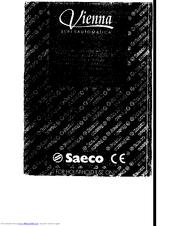 Saeco vienna superautomatica espresso coffee and cappuccino.