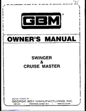 GBM Swinger Owner's Manual