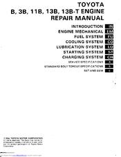 toyota 3b manuals rh manualslib com Toyota 3B Turbo Manifold Toyota 3B Diesel Turbo