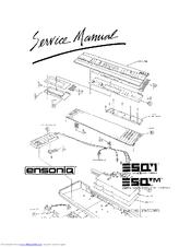 ensoniq esq 1 manuals rh manualslib com Ensoniq ESQ-1 Service Manual Ensoniq 7600
