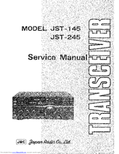 JRC JST-145 Service Manual