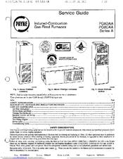 payne pg8uaa manuals rh manualslib com Payne Furnace Model Numbers payne furnace pg9maa service manual