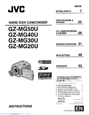 jvc gz mg20u manuals rh manualslib com JVC GZ Mg20u Manual jvc gz-mg20u software download