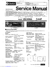 clarion pu 9034a manuals rh manualslib com clarion car audio service manual clarion car stereo bluetooth manual