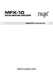 Nux Mfx 10 инструкция на русском - фото 11
