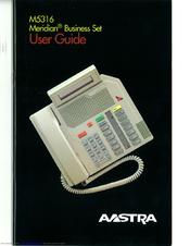 aastra m5316 user manual pdf download rh manualslib com aastra m5316 manual aastra m5316 user manual