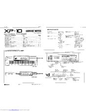 Roland xp10 manual.