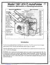 Martin Yale 1501 Cv 7 Manuals Manualslib