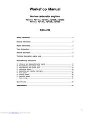 volvo penta aq130c manuals rh manualslib com Pontiac Shop Manual 2007 Ford Workshop Manuals