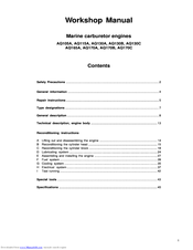 volvo penta aq130c manuals rh manualslib com Volvo Penta Shop Manual volvo penta aq130 service manual