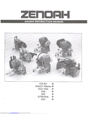Zenoah G38 Instruction Manual