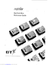 norstar startalk mini manuals rh manualslib com meridian norstar startalk mini user guide Startalk Series