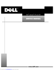 Dell Latitude CP Service Manual