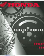 honda cb900f hornet manuals rh manualslib com honda cb900f service manual download honda cb900f manual
