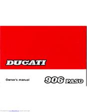ducati 906 paso manuals rh manualslib com ducati owner manual download ducati owners manual free