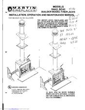martin fireplaces sc 42 manuals rh manualslib com Martin Industries Fireplace Log Manual Martin Gas Fireplace Manual