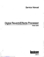 lexicon 224x manuals rh manualslib com lexicon alex owners manual lexicon lambda owners manual