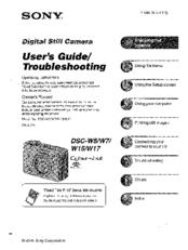 Download sony cyber-shot dsc-w320 pdf user manual guide.
