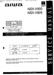 aiwa nsx v929 manuals rh manualslib com Aiwa Nsx- A202 Aiwa Nsx- D70