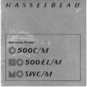Hasselblad SWC Manuals
