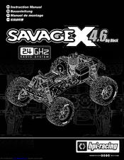 hpi racing savage x 4 6 big block manuals. Black Bedroom Furniture Sets. Home Design Ideas