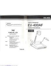 elmo ev 400af manuals rh manualslib com