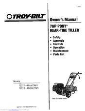Troy-bilt pony tiller repower.