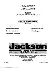 JACKSON MSC JP-24F SERVICE MANUAL Pdf Download. on