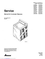 amana lwa50aw manuals rh manualslib com amana washer nfw7200tw repair manual amana washing machine repair manual